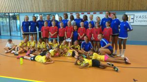 le CALHB avec l équipe de France jeune