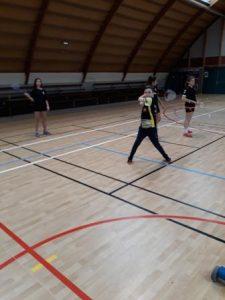 badminton mixte