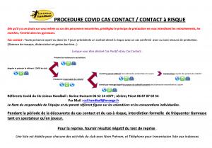 DEMARCHE PRECONISATION COVID CA LISIEUX HB