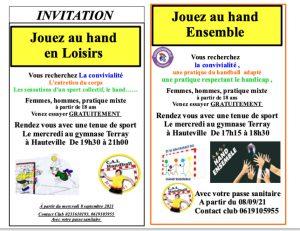 Flyer Handadapté et hand loisirs copie